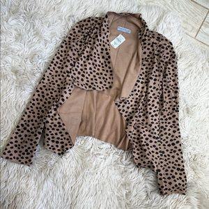 Bagatelle cheetah print jacket